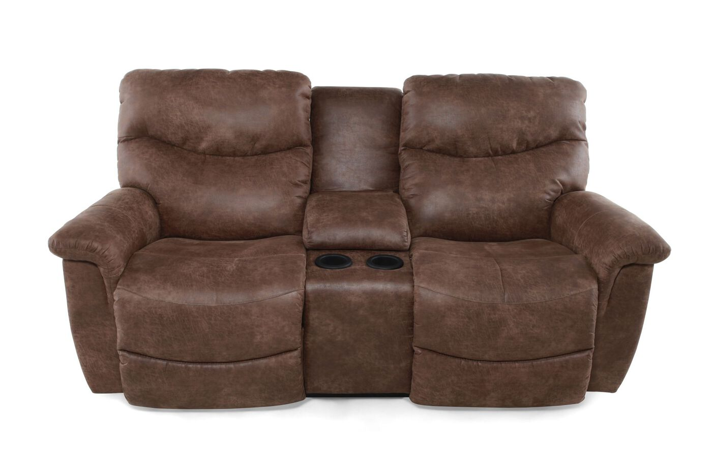 Power Reclining Leather Loveseat La Z Boy Mathis Brothers