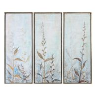 Uttermost Shining Florals Framed Art S/3