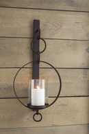 Ashley Ogaleesha Brown Wall Sconce