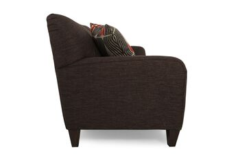 La z boy dolce graphite upholstered sofa mathis brothers for Sofa bed 91762
