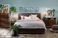 Aspen Walnut Heights Queen Bedroom Suite