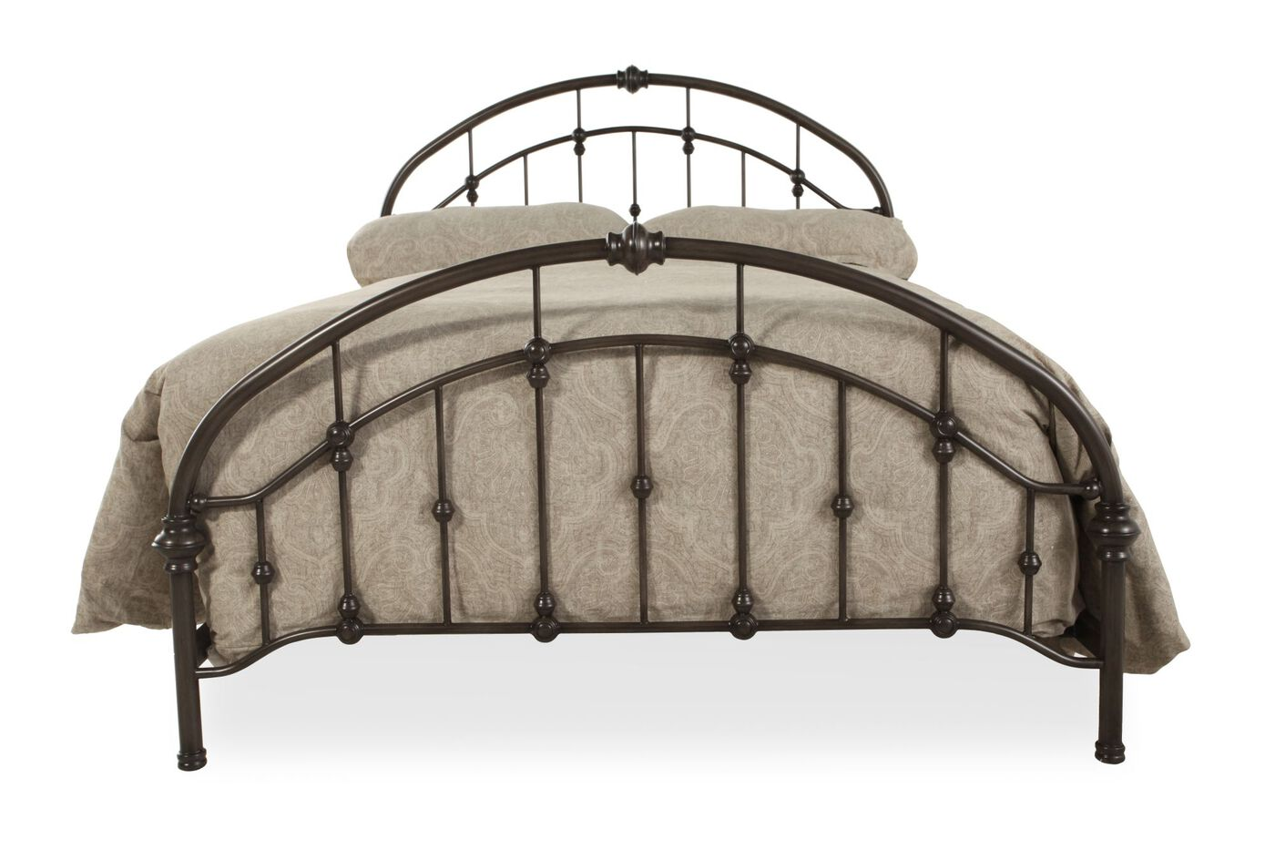 Ashley Bronze Metal Bed Mathis Brothers Furniture