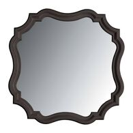 Stanley Coastal Living Retreat Gloucester Grey Piecrust Mirror