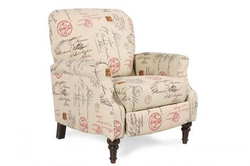 Ashley Placido Script High Leg Recliner Mathis Brothers