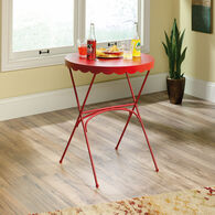 MB Home Dahlia Red Bistro Table