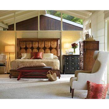 Stanley Archipelago Shoal Calypso California King Panel Bed