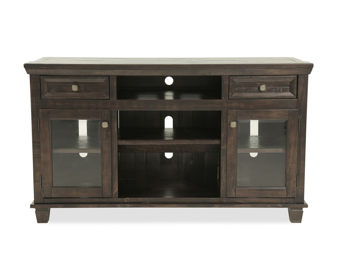 Ashley Townser Brown Tv Stand Mathis Brothers Furniture