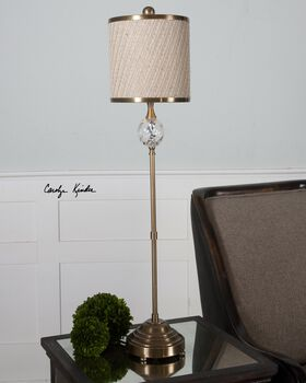Uttermost Dueville Coffee Bronze Buffet Lamp
