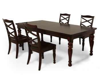 ashley porter five piece dining set mathis brothers furniture. Black Bedroom Furniture Sets. Home Design Ideas