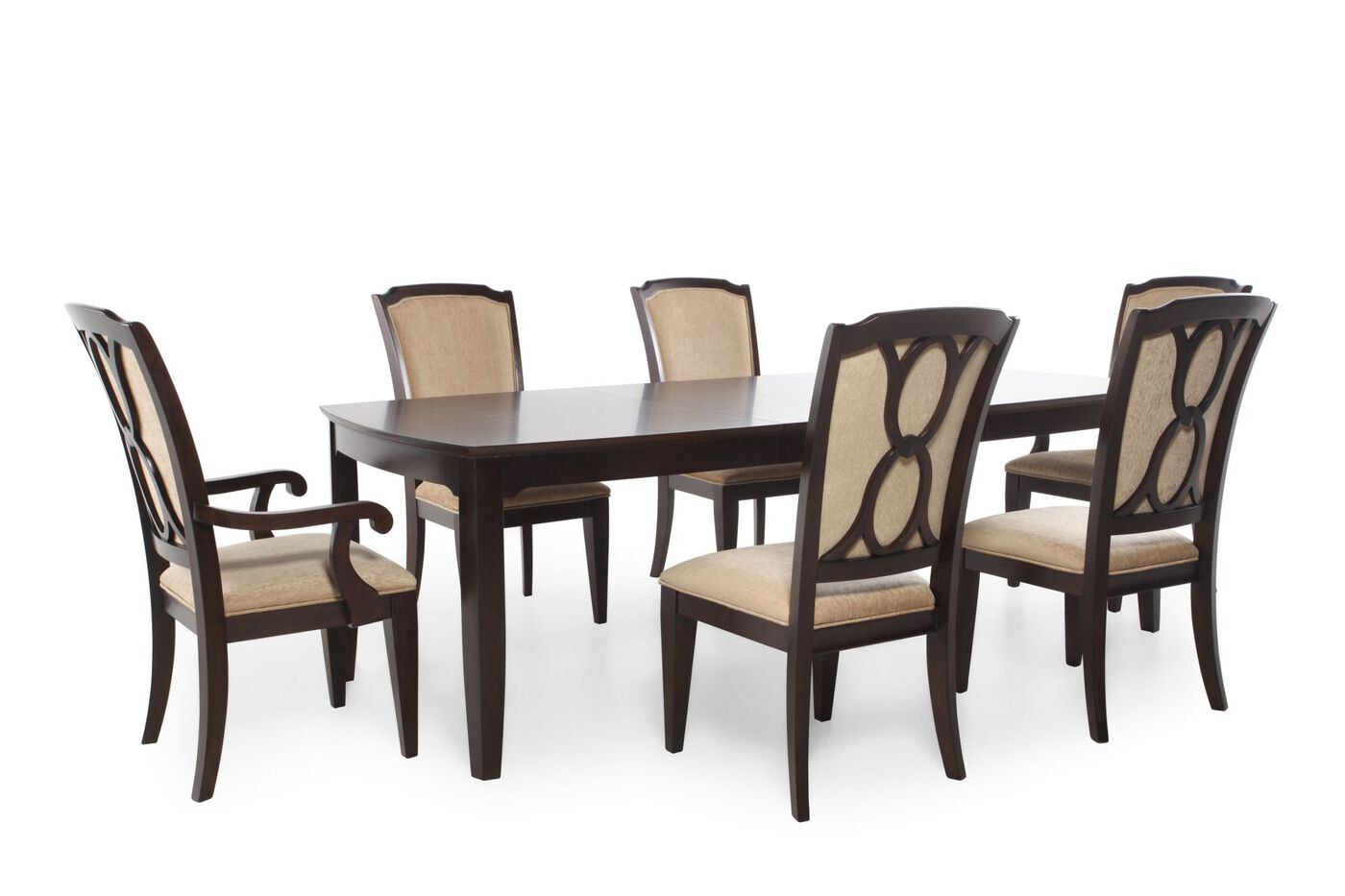 legacy sophia seven piece dining set mathis brothers