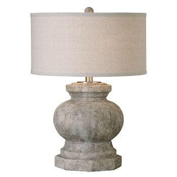 Uttermost Verdello Antiqued Stone Table Lamp