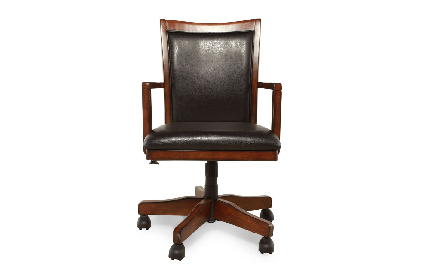 Ashley hamlyn office chair mathis brothers furniture - Ashley furniture office desk ...