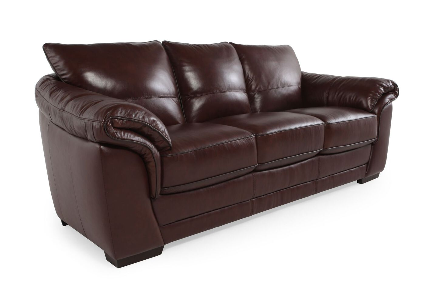 Violino Apollo Leather Sofa Mathis Brothers Furniture