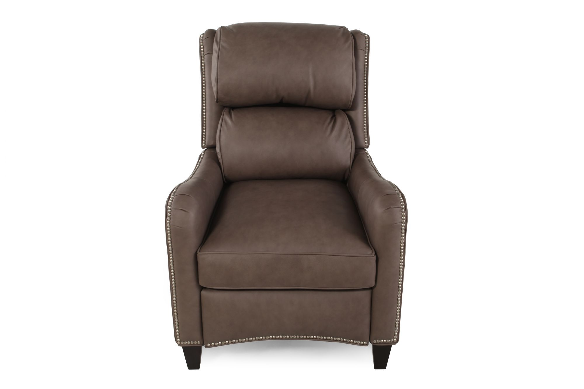 bradington young henley leather reclining lounger
