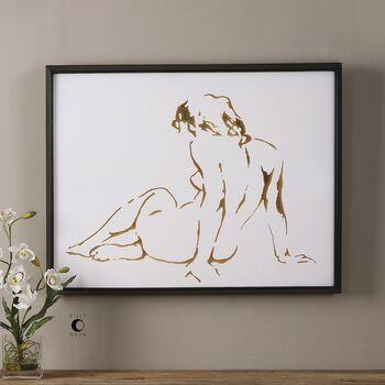 Uttermost Golden Figure Feminine Art