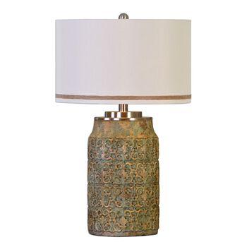 Uttermost Ceronda Mushroom Gray Table Lamp