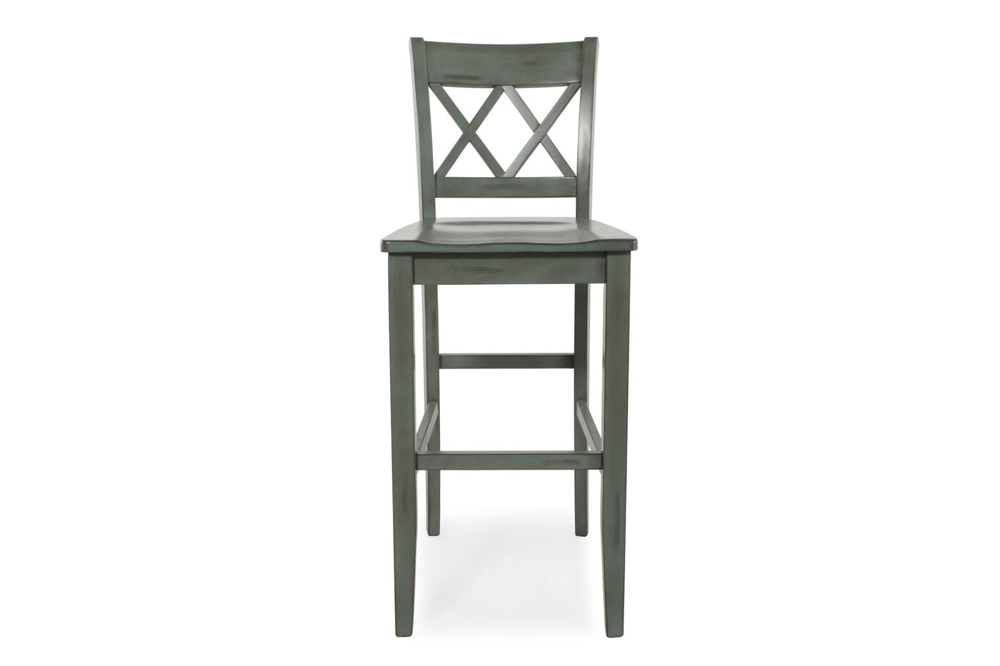 Ashley Mestler Pair Of 30 Quot Bar Stools Mathis Brothers