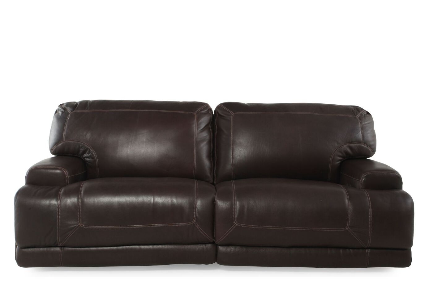 Simon Li Crown Light Walnut Power Reclining Sofa Mathis  : SIMON M0055E04730 WALNUT from www.mathisbrothers.com size 1400 x 933 jpeg 58kB