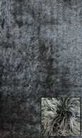 LBJ Machine Made Polyacrylic Black/Grey 5' X 8' Rug
