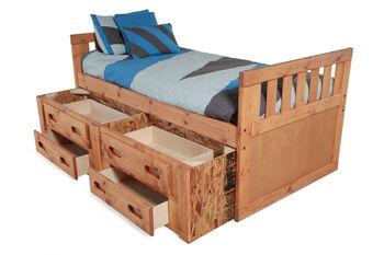 Trendwood Twin Captain's Bed