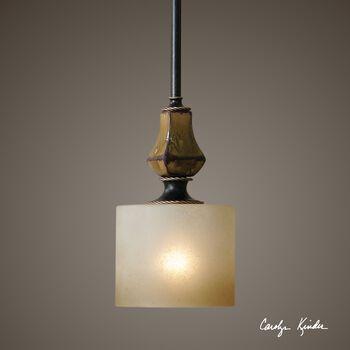 Uttermost Porano 1 Light Ceramic Mini Pendant