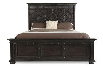 Hooker California King Wood Panel Bed