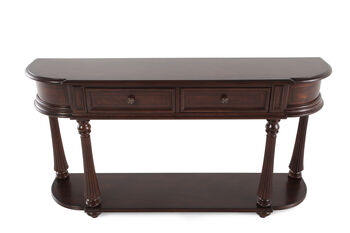 Hooker Leesburg Demilune Hall Console