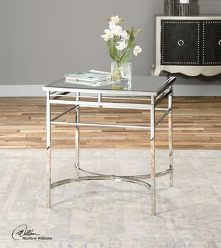 Uttermost Fedro Mirrored Accent Table