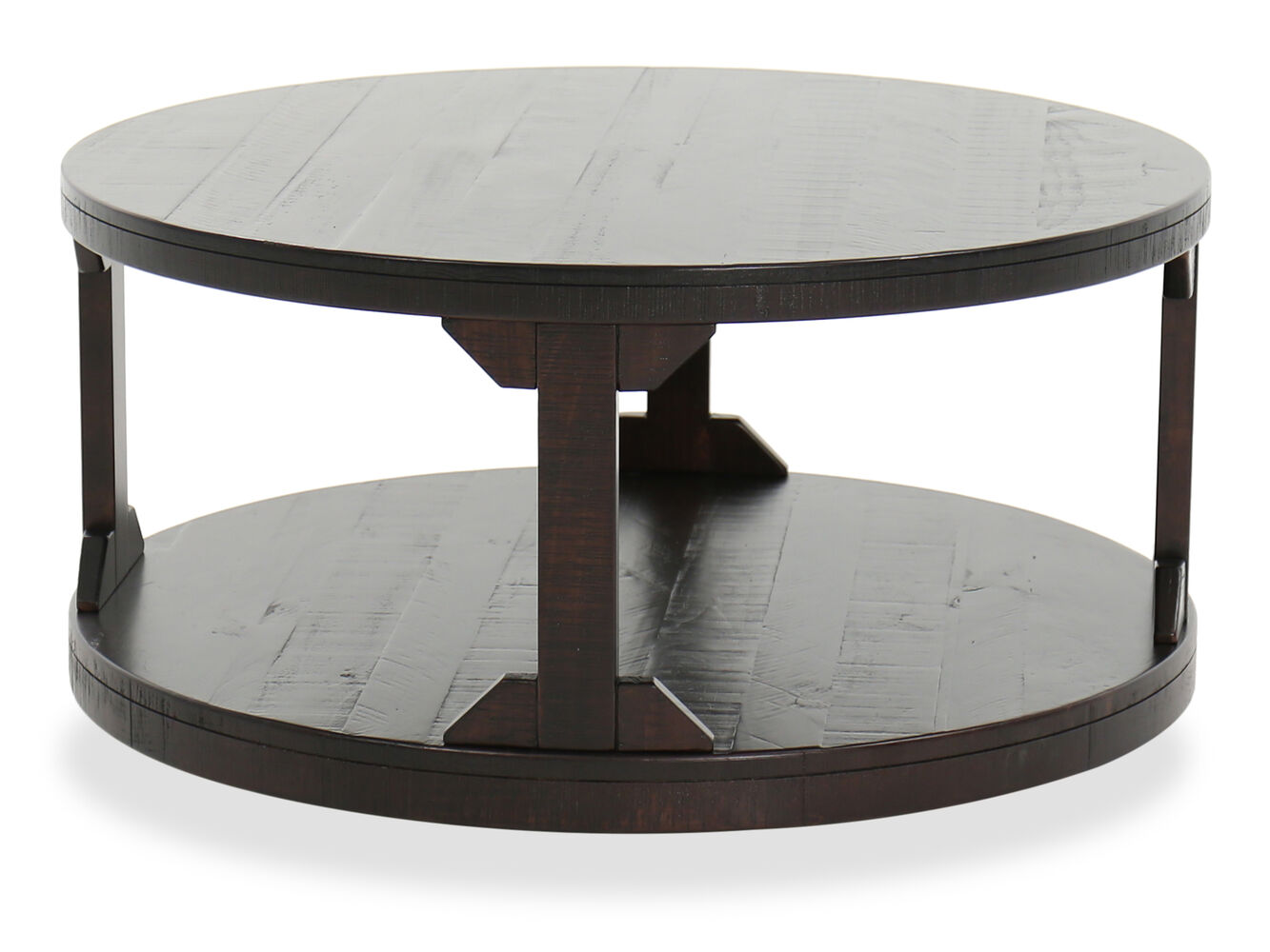 Ashley Rogness Round Cocktail Table | Mathis Brothers ...