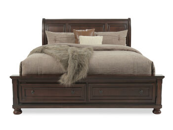 Ashley Porter Queen Sleigh Bed w/Storage