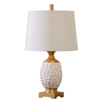Uttermost Lazio Ivory Shell Table Lamp