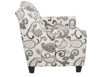 Ashley Yvette Steel Accent Chair