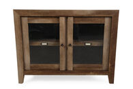 Sauder Oak Display Cabinet