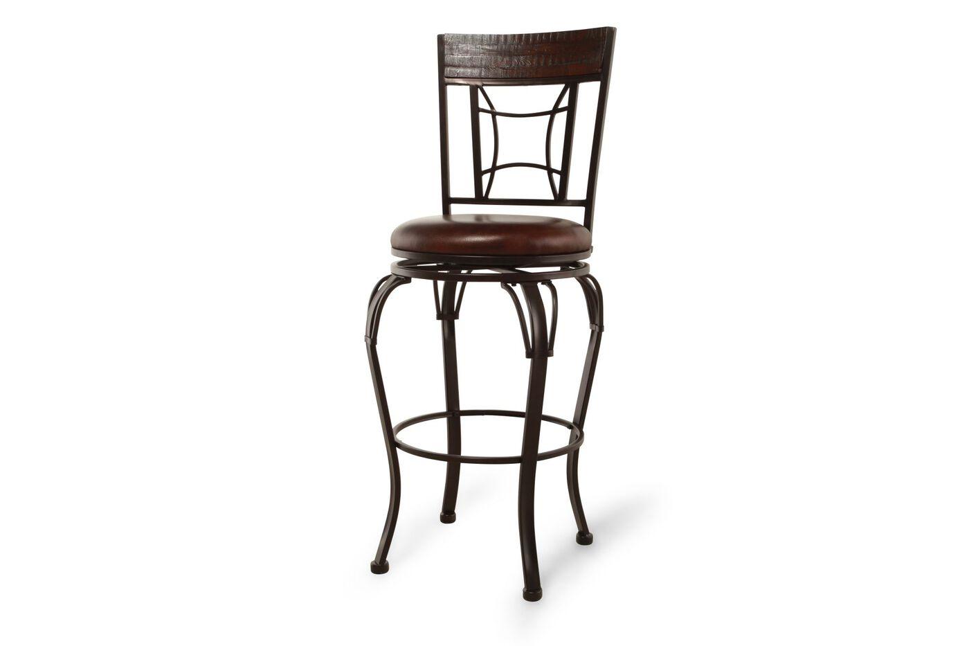 Hillsdale Granada Swivel Bar Stool Mathis Brothers Furniture