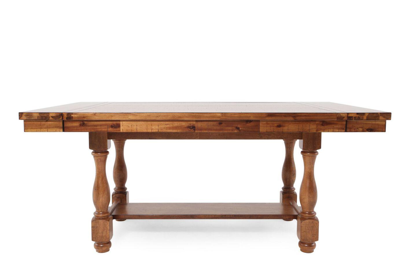 winners only grand estate pedestal table mathis brothers furniture. Black Bedroom Furniture Sets. Home Design Ideas