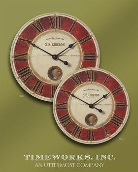 "Uttermost S.b. Chieron 23"" Wall Clock"