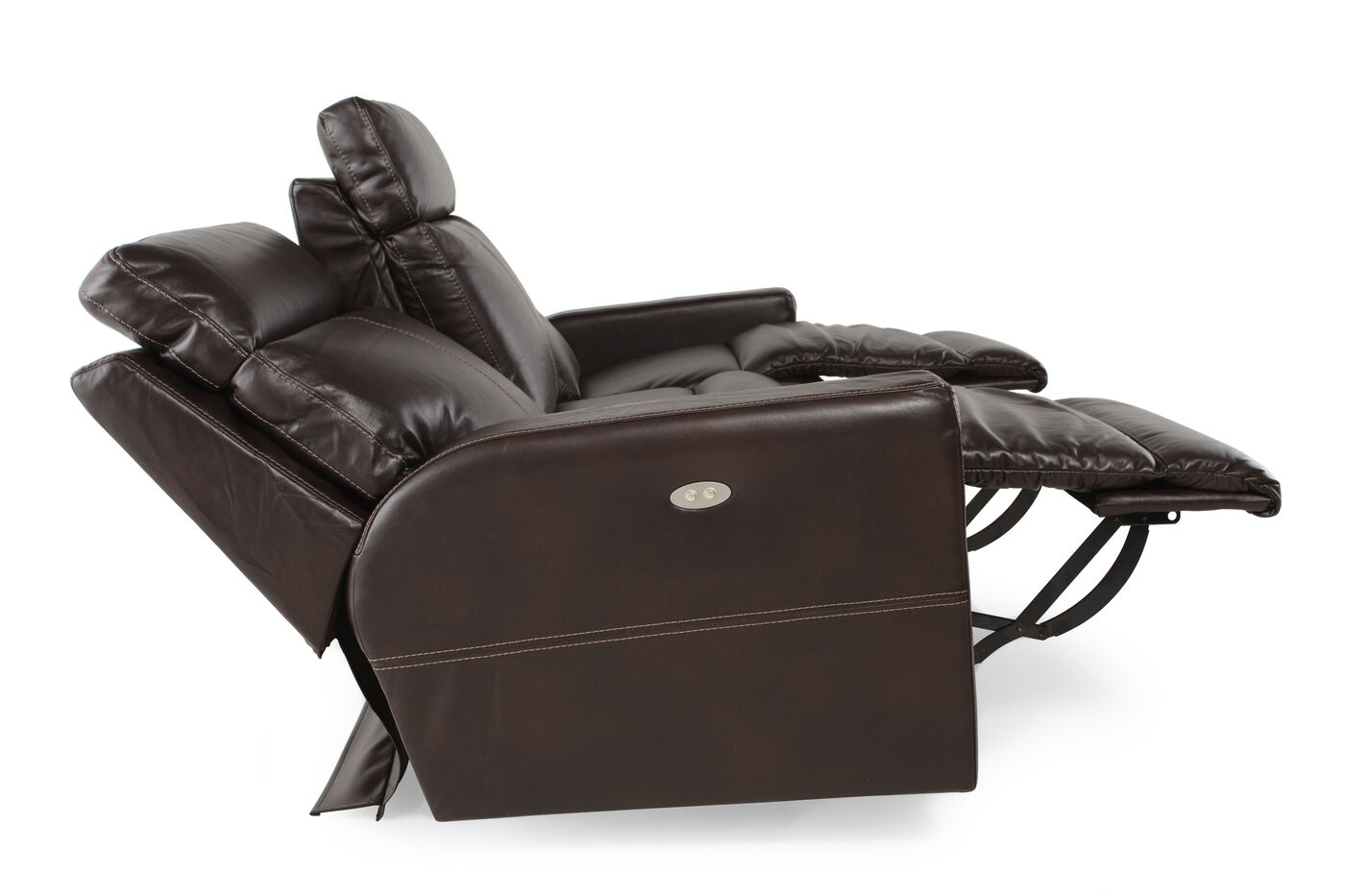La Z Boy Power Reclining Sofa Mathis Brothers