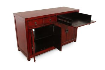Hooker Red Entertainment Console