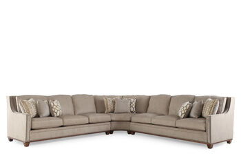 a r t furniture bridgewater sectional mathis brothers