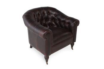 Rachlin Classics Rhiannon Leather Chair