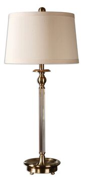 Uttermost Vairano Fluted Glass Lamp