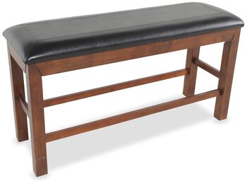 Winners Only Franklin Dark Oak Tall Bench