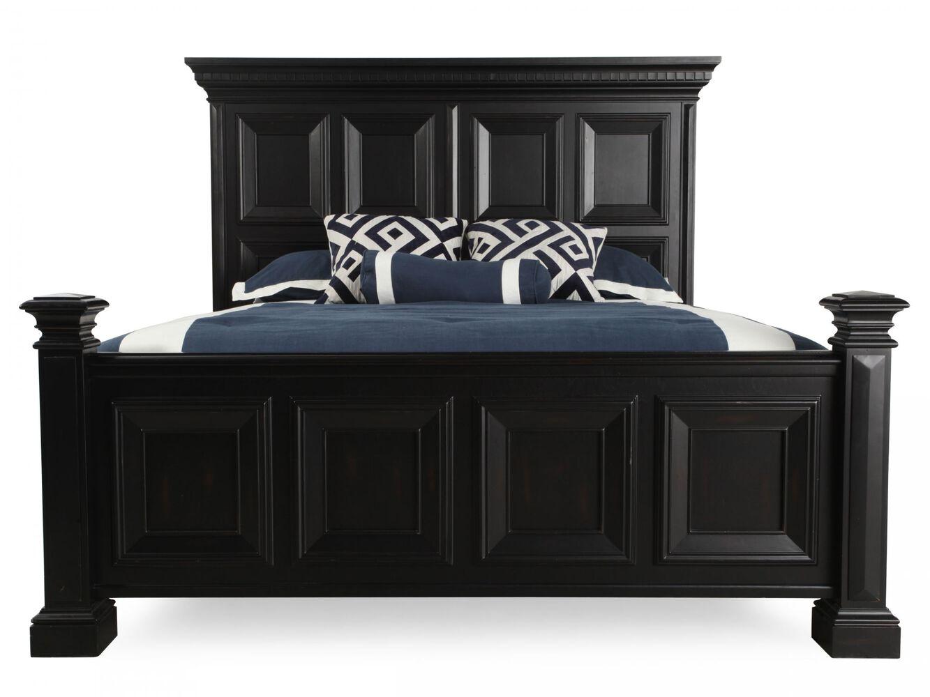 pulaski brookfield panel bed mathis brothers furniture. Black Bedroom Furniture Sets. Home Design Ideas