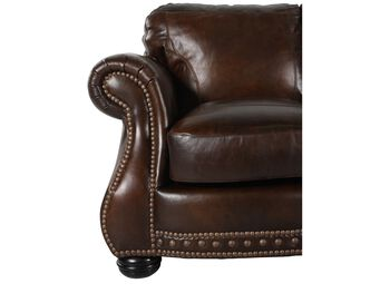 USA Leather Cowboy Chair