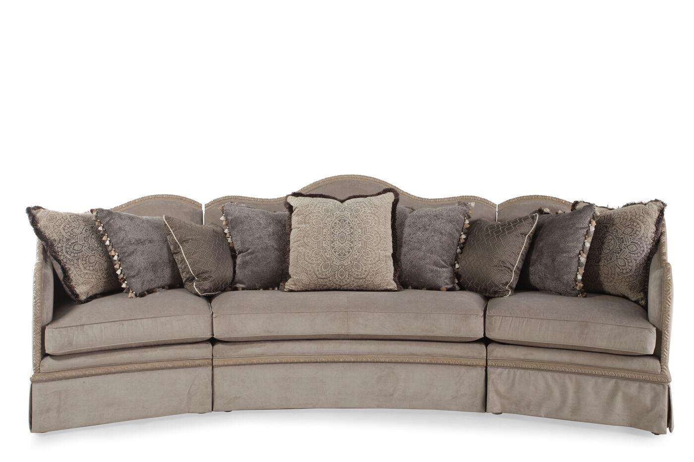 a r t furniture giorgio slate three sectional