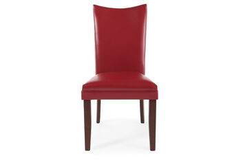 Ashley Charrell Red Pair of Side Chairs