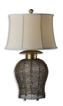 Uttermost Rickma Woven Metal Table Lamp