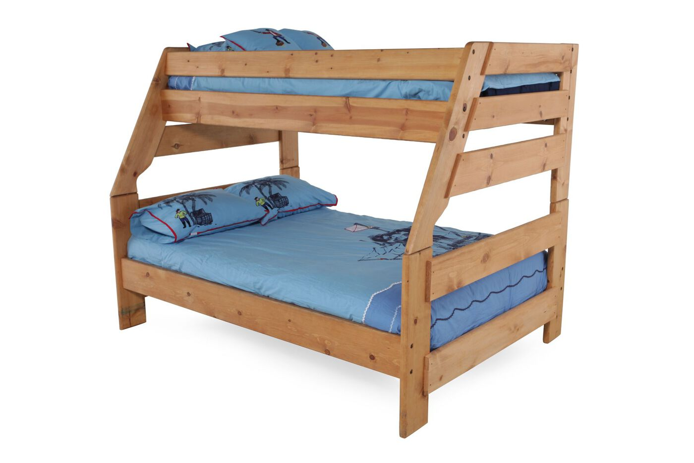 Trendwood High Sierra Twin Over Full Bunk Bed Mathis Brothers Furniture