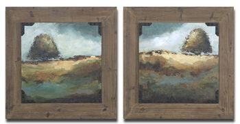 Uttermost Trees Of Love Framed Art Set/2