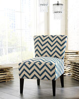 Ashley Ravity Blue Accent Chair